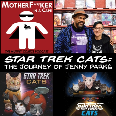 Star Trek Cats: The Journey of Jenny Parks!