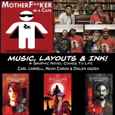 Music, Layouts & Ink - A Graphic Novel Comes to Life!